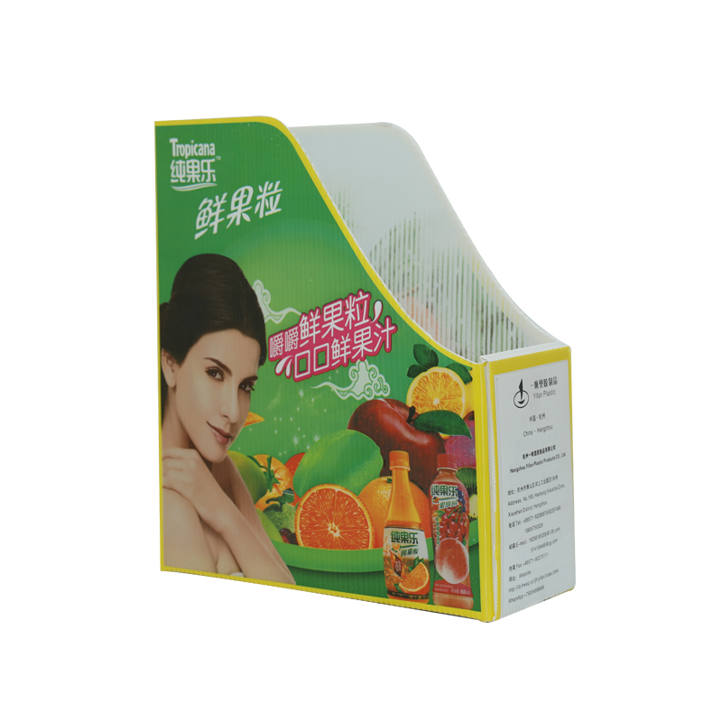 Porte-lime en plastique ondulé taille personnalisée design couleur